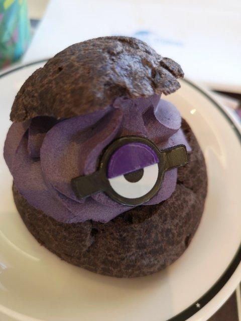 紫ミニオン