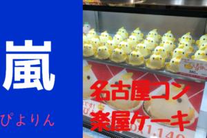 嵐が食べたケーキが食べたい…それなら!名古屋駅で購入可能!ぴよりんがオススメ!!!